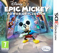 Epic Mickey: Power of Illusion Review